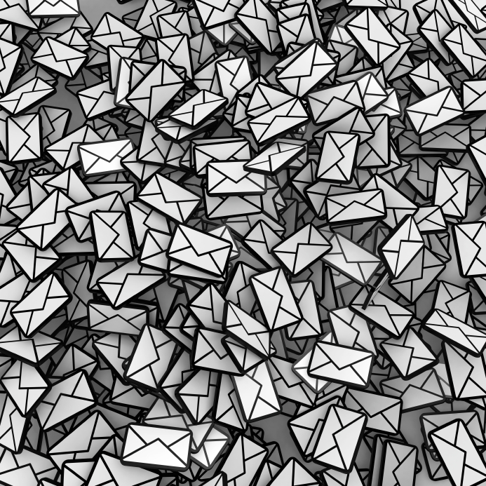 Sea of emails