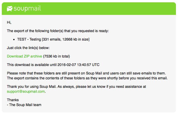 ArchivingEmail